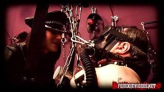 Mistress Krush in full leather part 3