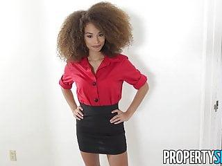 Sexy tiny girl - Propertysex - sexy tiny agent fucks handymans big cock