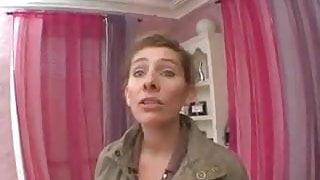 Chubby French woman gangbang