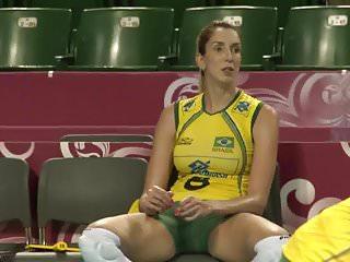 Female volleyball player nude - Brazilian volleyball players amazing cameltoe