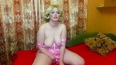 masturbation in beautiful panties