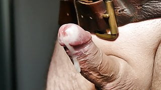 Prostate massage and squirt