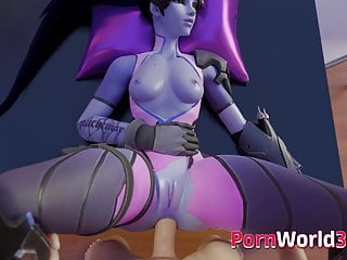 Hentai website uses paypal Naughty 3d widowmaker is used as a sex slave