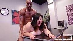 Ssbbw Big Booty Latina BBW Karla Lane Loves Big Black Cock