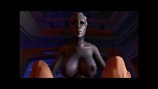 Liara T'soni fucking me 3D POV (futanari) (Mass Effect)