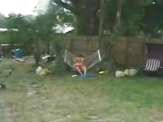 Teen fine Dibshots 1 - garden voyeur - fine fuck