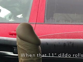 8 inch cock dave virgin pussy Public 11 inch dildo and 8 inch cock flash car