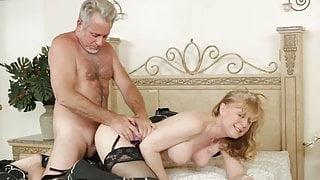 Nina Hartley - Sexy Mommy in stockings