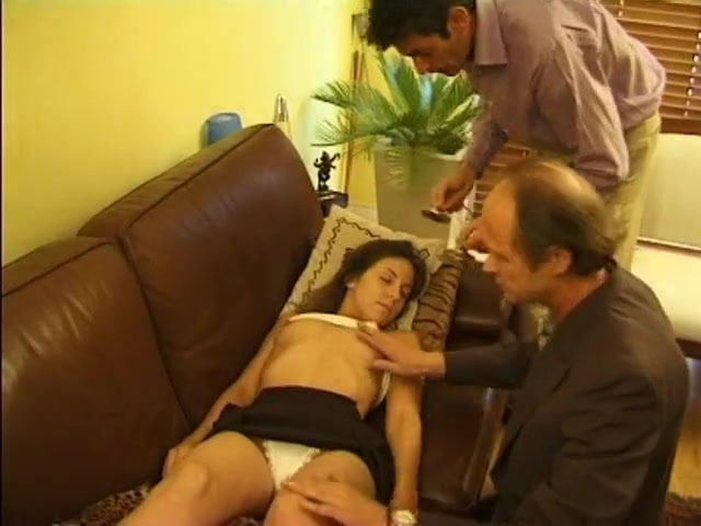 French Anal Threesome Casting