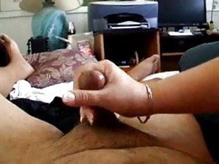 Boob cum nice shot - Handjob cum shot nice nails