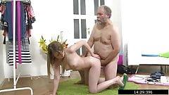 Sveta gave herself to a lustful dodderer