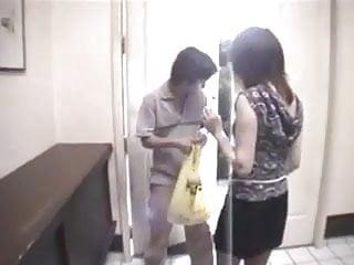 Teen girl and short skirt Japanese wife lifts her short skirt
