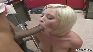 Step Mom Get First Time Casting Fuck with Huge Black Cock