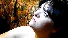 REAL Homemade .. CUM SLUT WIFE Facials II