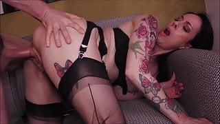 ImageSet Black Stockings, ADELINE LAFAOUINE, Hard Sex Gallery
