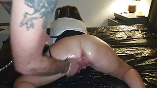 15.12.2019 Slutty school girl fisted and squirting