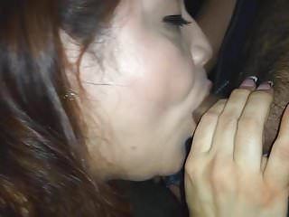 Mature m2m blow jobs Rae lynn giving another blow job with cumshot