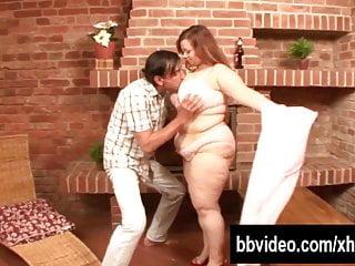 Girls eat dick - Busty bbw german whore eat dick