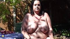 Big busty mom needs a good fuck