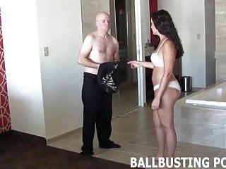Pleasure ball - It brings me so much pleasure to smash your little balls