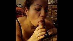 Paula deepthroat