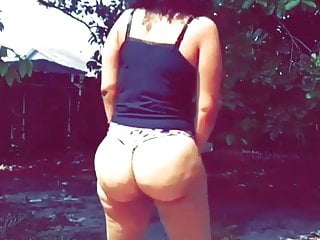 Mike tyson nude pictures Tysons sister friend showing us love in the back yard