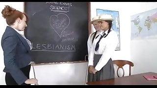 La maestra y sus alumnas.