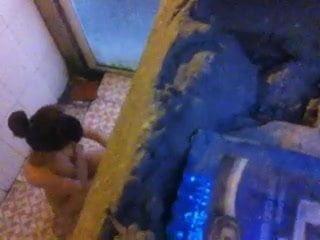 spying on vn girl shower