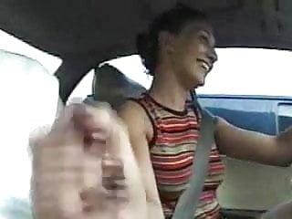Gay car handjob Car handjob