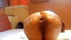 INDIAN WIFE BRUTALLY ANAL FISTED-BDSM