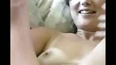 Lynn - Vintage Cute Nude Wife Spreads Hairy Pussy in the 90s