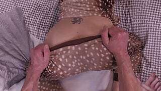 Close-Up POV Anal Insertions, Queen Mona's Virgin Ass