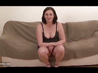 Black cum down pussy - Chubby brunette hairy pussy down for some black cock fucking