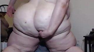 SSBBW Anal Very hot asshole