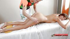Naked Sensual Massage For Blonde Anna Semenova