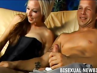 Her first bisexual threesome I will make your first bisexual threesome amazing