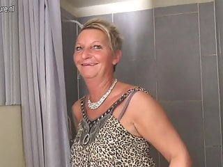 Wet housewife pussy Naughty dutch housewife playing with her wet pussy
