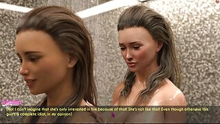 AWAM - Shower scene Lesbian Scene