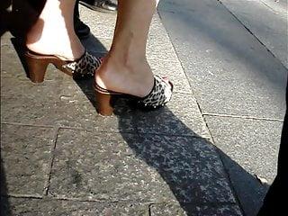 Fucking granny 34 - Candid high heels 34