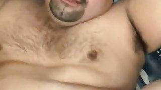 Fucking my bear friend