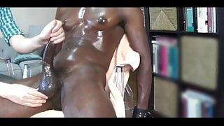Post Orgasm Torture - multiple cumshots for BBC
