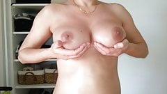 Beautiful hairy pussy and big boobs