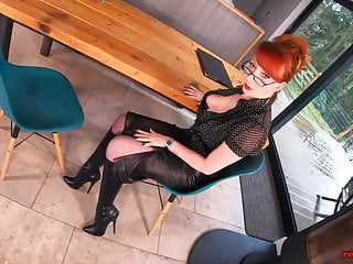 Red tube horny mature Stunning milf red xxx is always horny and ready to go