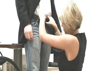 Japan voyeur job interview porn German blonde fucks at job interview