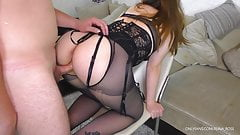 School Teacher gets fucked her Big Ass and Huge Cum on Pussy