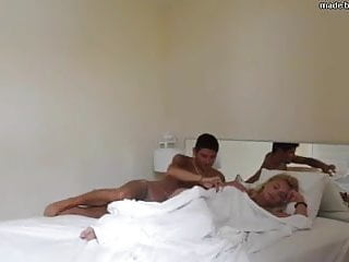 Fucking the hotel maid My escort friend fucked in the hotel
