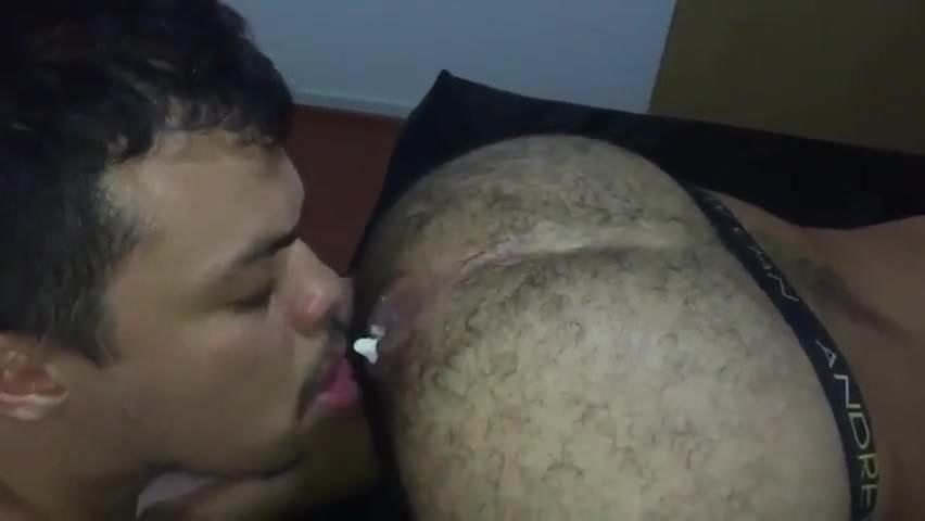 Ebony Ass Eating Orgasm