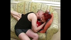 Lustful mommy Russian Irene Sinayskaya and cunt-hunter Romeo