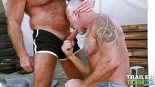 TRAILERTRASHBOYS Gays Lance Charger And Mack Austin Bareback