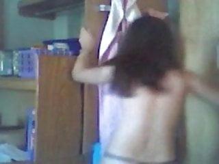 Very hot teen stripping Hot teen stripping on webcam